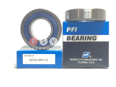 Bearing PFI 62/32-2RS C3 32x65x17 photo 1