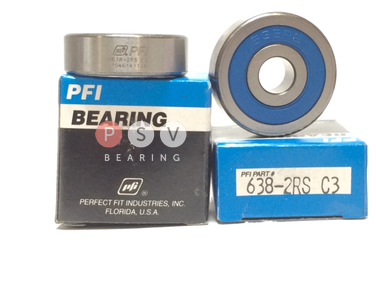 Bearing PFI 638-2RS C3 8x28x9 photo 1