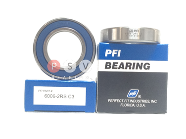 Bearing PFI 6006-2RS C3 30x55x13 photo 1