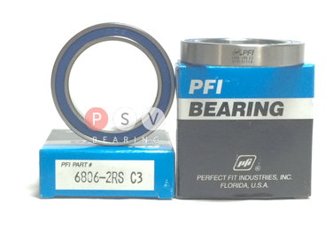 Bearing PFI 6806-2RS C3 30x42x7 photo 1