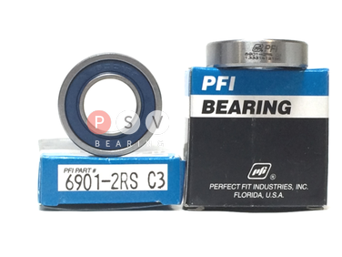 Bearing PFI 6901-2RS C3 12x24x6 photo 1