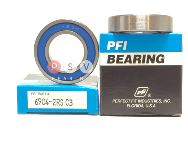 Bearing PFI 6904-2RS C3 20x37x9 photo 1
