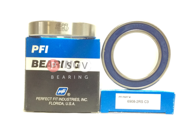 Bearing PFI 6908-2RS C3 40x62x12 photo 1