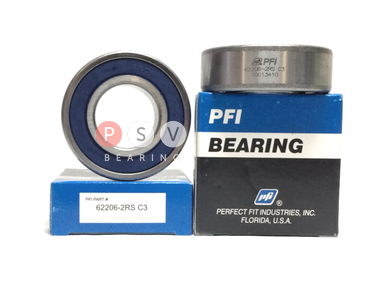 Bearing PFI 62206-2RS C3 30x62x20 photo 1