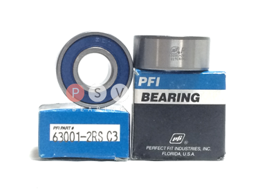 Bearing PFI 63001-2RS C3 12x28x12 photo 1