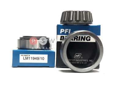 Bearing PFI LM11949/10 19.05x45.237x15.494 photo 1