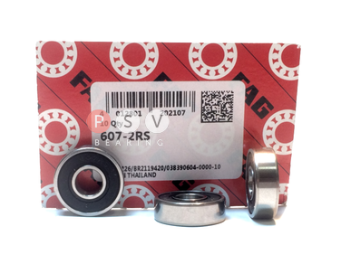 Bearing FAG 607 2RS 7x19x6 photo 1