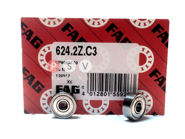 Bearing FAG 624 ZZ C3 4x13x5 photo 1