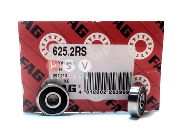 Bearing FAG 625 2RS 5x16x5 photo 1