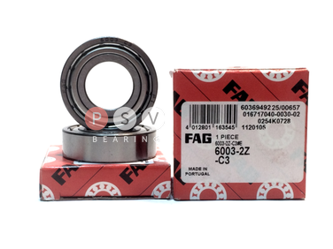 Bearing FAG 6003 ZZ C3 17x35x10 photo 1