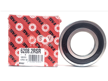 Bearing FAG 6208 2RS 40x80x18 photo 1