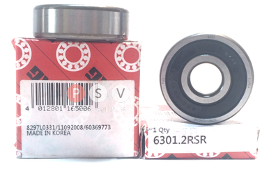 Bearing FAG 6301 2RS 12x37x12 photo 1