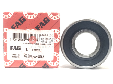 Bearing FAG 62204 2RS 20x47x18 photo 1