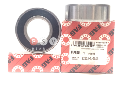 Bearing FAG 62205 2RS 25x52x18 photo 1