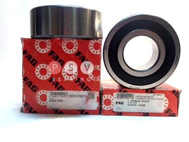 Bearing FAG 62309 2RS 45x100x36 photo 1